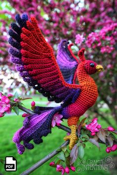 Free amigurumi doll and animal crochet patterns are waiting for you. You can find everything about Amigurumi. Crochet Birds, Crochet Animals, Crochet Crafts, Crochet Projects, Free Crochet, Knit Crochet, Ravelry Crochet, Crotchet, Ravelry Free