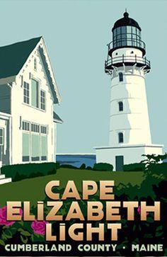 Cape Elizabeth #Light - #ME 590 x 776 http://dennisharper.lnf.com/