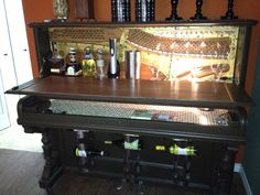 Piano to bar! I loved doing this project