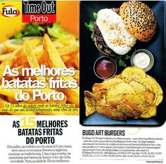 Best Places in Porto to eat chips! BUGO in Time Out Porto