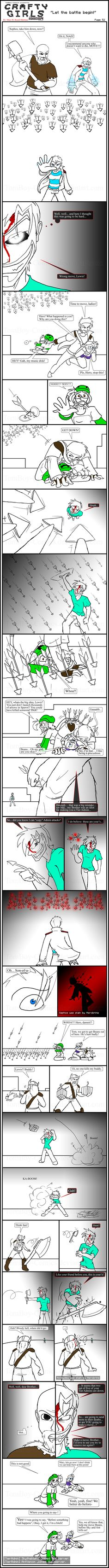 Minecraft Comic: CraftyGirls Pg 52 by TomBoy-Comics on deviantART