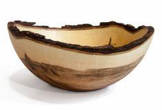 Stinson Studios - Bark Edge Bowl - Ambrosia Maple 17