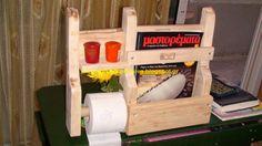 Απλές κατασκευές από παλέτες / Simple Pallet Construction: Toilet (WC) pallet construction....... by Alex !!!!