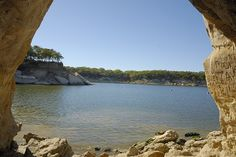 eisenhower state park denison tx images | ... : Photos: Cave over looking Lake Texoma in Eisenhower State Park