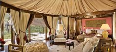 Tent Hotels: Kasbah Tamadot in Marrakech, Morocco