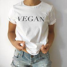 The Vogue 'Vegan' T-Shirt -White