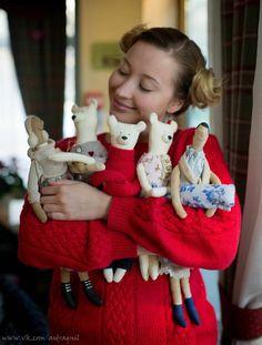 Anna Ermolaeva @vermeers_girl  Annie Fox Thanks for inspiration http://www.tildasworld.com/