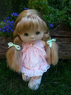 KORA my child doll - ul ash, green eyes, grape makeup