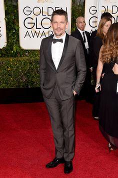 Ethan Hawke at Golden Globes 2015