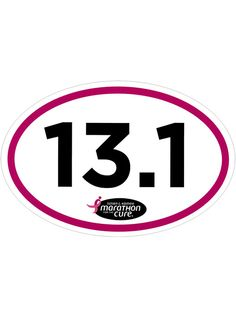 Marathon for the Cure® Adhesive Decal at ShopKomen.com
