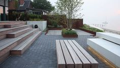 Could be great to incorporate railway sleepers into the garden somehow. Or wood