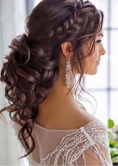 Best makeup ideas for quinceanera make up bridesmaid hair ideas - - Makeup İdeas Fairy - Brautjungfern make-up Wedding Reception Hairstyles, Indian Wedding Hairstyles, Bride Hairstyles, Formal Hairstyles, Bridesmaid Hairstyles, Brunette Hairstyles, Hairstyle Curly, Wedding Hairstyles For Long Hair, Straight Hairstyles