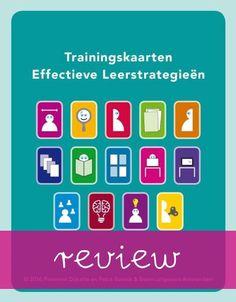 Trainingskaarten effectieve leerstrategieën