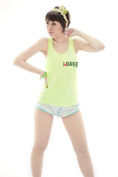 Neon Blink 2013 Collection  I❤DANCE Neon Tanktop  Blink Short