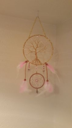 Tree Of Life Dream Catcher Wall Hanging with by PrettyThingz4UByMe