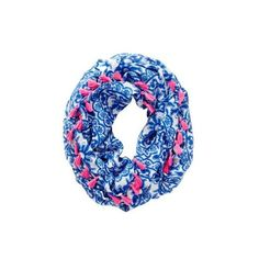 Riley Tassel Infinity Loop Scarf Pooling Around featuring polyvore, fashion, accessories, scarves, circle scarves, circle scarf, round scarves, loop scarves and infinity scarf