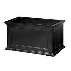 black x planter boxes - Google Search