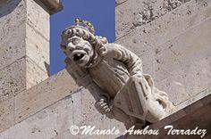 GÁRGOLAS DE LA LONJA DE VALENCIA Valencia, Chimera, Green Man, Macabre, Lion Sculpture, Nature, Fantasy, Stone, Architecture