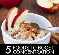 5 Foods To Improve Your Concentration