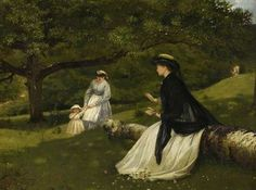 Mother with a Baby and a Nursemaid