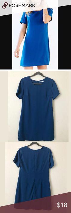 "Kimchi Blue blue shift dress Brand: Kimchi Blue Size: Medium Style/Details: Light Weight Shift Dress/Fully Lined  Color: Blue  This item is pre-owned. In mint condition. No rips, stains, tears or odor.  Measurements: Shoulder-Shoulder: 15.5"" Armpit-Armpit: 18.5"" Waist: 17"" Length: 34"" Bottom Hem: 21"" Kimchi Blue Dresses Mini"
