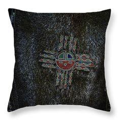 All Throw Pillows - Beaver Skin Throw Pillow by Lovina Wright