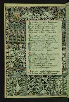 W.494, LACE BOOK OF MARIE DE' MEDICI folio 22v
