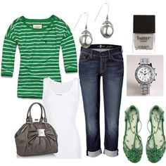 outfit, created by #sandraproseilo on #polyvore.