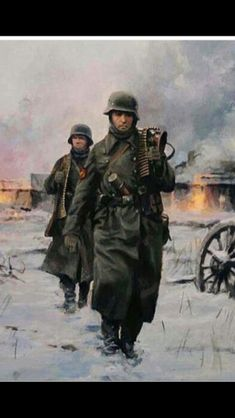 Spanish machine gun team near Krasny Bor (Soviet Union) February 10 1943