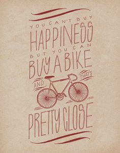 Bicycle 11x14 Art Print by ProjectType on Etsy