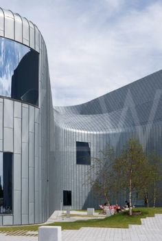 Zaha Hadid Architects' Riverside Museum of Transport and Travel