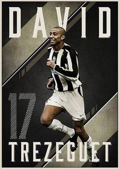 Collegamento permanente dell'immagine integrata Juventus Stadium, Juventus Fc, Football Soccer, Football Players, David Trezeguet, Association Football, Turin Italy, Professional Football, Sports Art