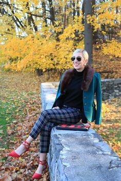 Lemon Stripes Holiday Outfit