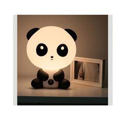 Børnetøj & Legetøj: Sød panda lampe til børneværelset