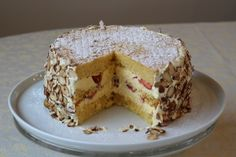 the year of the cake 2012...September    passionfruit genoise