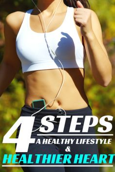 4 steps for a healthier heart and healthy lifestyle tips. I need to work on number 4 the most.  | The Bewitchin Kitchen