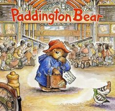 Paddington Bear by Micheal Bond - an old English Classic - this would be for good readers when it is hard to find books that don't have violence or romance. It is a great read aloud for younger children - there are over 20 Paddington Bear books. Paddington Bear Books, Oso Paddington, Bear Cartoon, Children's Book Illustration, Book Illustrations, Children's Literature, My Childhood, Childrens Books, Good Books
