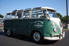 1966 T1 VW Samba bus