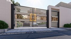 Do floor plan in vray high quality by Surrayashabbir Gate Wall Design, Home Gate Design, House Main Gates Design, Main Entrance Door Design, Modern Entrance, House Front Design, Modern Gates, House Front Gate, Gate Designs Modern