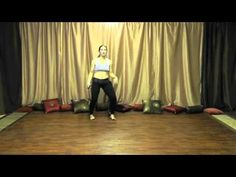 Belly Dancing - How to belly dance step bump with corkscrew