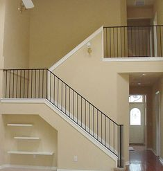 Straight Picket Stair And Landing