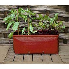 Odlingssäck - Long Balcony Patio planter-odlingssäck för odling  på balkong och terass