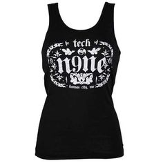 b4930768546b Tech N9ne - Ladies Black Tank Etch  10 Tech N9ne