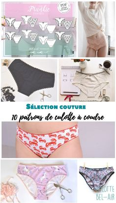 Couture Selection 10 sewing panty patterns April on a thread Girl Dress Patterns, Blouse Patterns, Maxi Dress Tutorials, Fleece Hats, Sewing Pants, Sewing Projects For Beginners, Sewing Tutorials, Diy Fashion, Avril