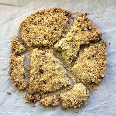Crumble cake with chocolate chips