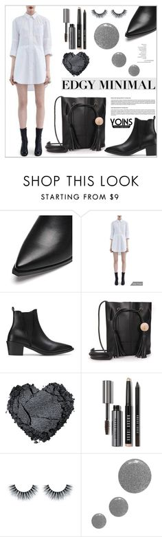 """Yoins Minimal Style"" by deeyanago ❤ liked on Polyvore featuring Bobbi Brown Cosmetics, Topshop and yoins"