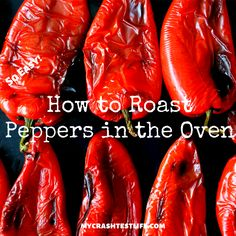 Roasting peppers in the oven could not be any easier. Bring out the depth of a pepper by combining it with a little olive oil and baking it in the oven. The skin literally peels right off and delivers the most delicious tasting peppers ever. #roasting #roastingpeppers #roastingpeppersoven #peppers #easypepperrecipe #keto #glutenfree
