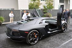 Matte Black Aventador LP-700-4