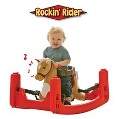 Have to have it. Tek Nek Toys Rockin Rider Legacy Grow-with-Me Pony $119.99