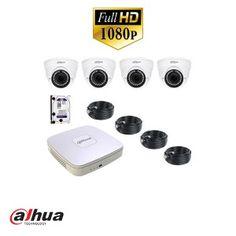 Camerabeveiliging set van Dahua 1080p 4x varidome